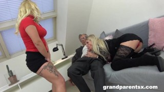 StepGranny and I share Grandpa's Old Cock