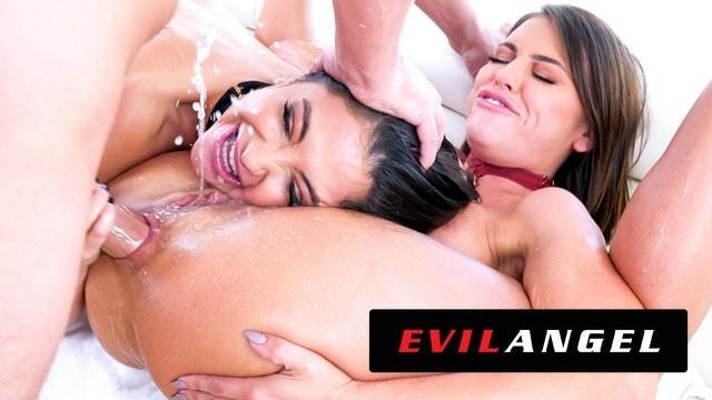 Evilangel Jane Wilde Adriana Chechik Out Slut Themselves