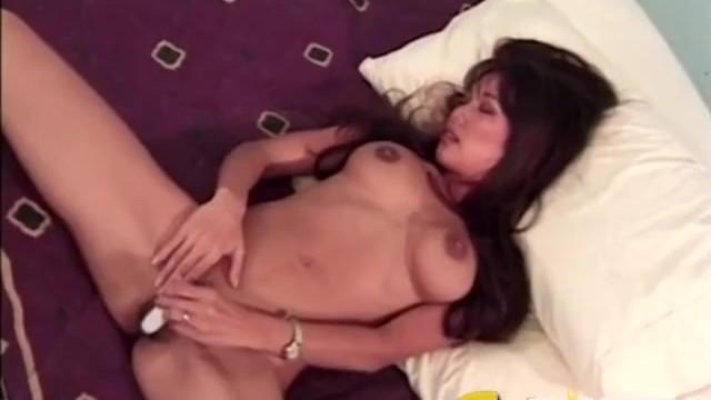 ED POWERS - Asian Slut Kayla Masturbates With Ed