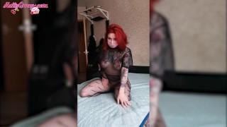 Sexy Girl in Pantyhose Play Pussy - Soft Erotica