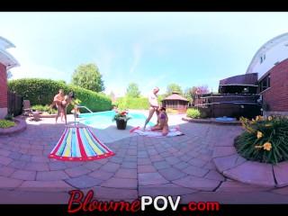 Blow me POV – VR Swingers' Blow Job