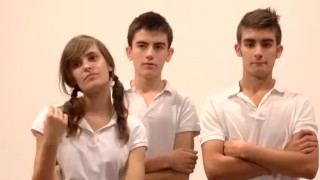 another episode of the fakings' school! – teen porn