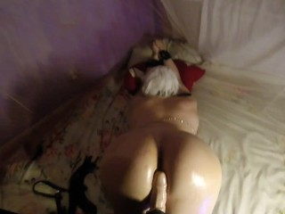 I TIED UP MY FEMBOY SLAVE AND FUCKED IN A GORGEOUS ASS