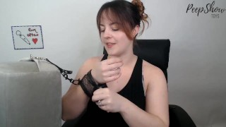 Liberator Black Label Whirl Wedge and Fishnet Handcuff Review!