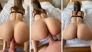 Screen Capture of Video Titled: Big Ass girlEnjoys Anal Sex POV - TinyTaya