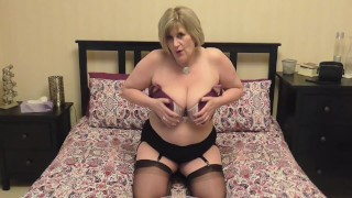 Would you like to play with this mature milfs Big Natural Tits?