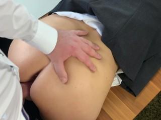 Creampie Cumshot Zusammenstellung Geschäftsfrau während Home-Office-Arbeit