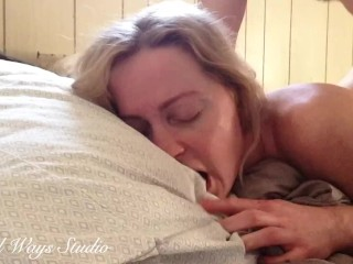 PAINAL PLEASE CUM IT HURTS!! Amateur Girl Struggles to take painful anal