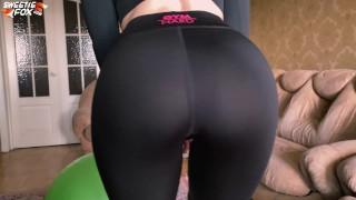 Fitness Babe Passionate Masturbate Pussy Dildo and Vibrator