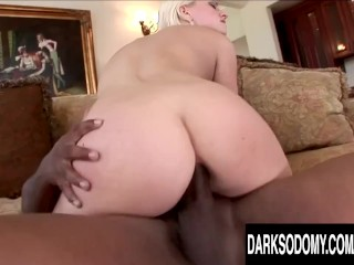Smoking Hot Blonde Jessie Volt Takes a Fat BBC up Her Tight Asshole