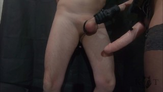 Pegged His Ass Wide Open - He Cums from Cock Slapping (Trailer)