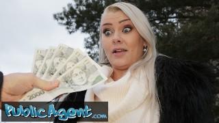 Public Agent Outdoor Blowjob & Basement Fuck for Big Tits Blonde Alexa Bold