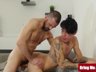 BRINGMEABOY Inked Twink Roman Capellini Bottoms For Daddy
