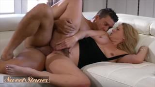 Sweet Sinner - Shy blonde Lisey Sweet has roleplay fetish