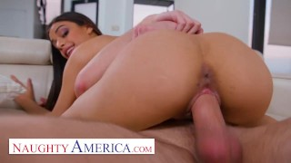 Naughty America - Horny stepdad gets lucky with stepdaughter's friend