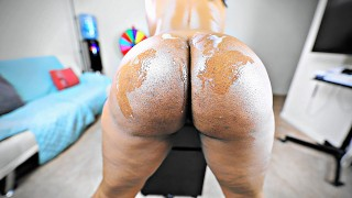 Clip MILF Ass Covered in His White Cum (4K)