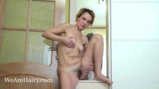 Ivanna masturbates after changing in her wardrobe