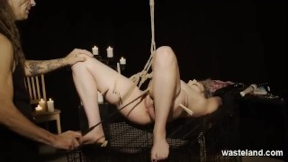 Pain And Pleasure For Bound Submissive