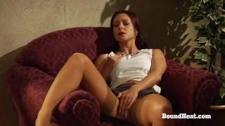 Education of Adela: Lesbian Mistress Orgasms From Long Facesitting On Slave