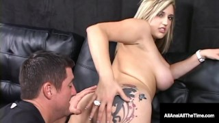 Screen Capture of Video Titled: Ass Licked Babe Dayna Vendetta Rimmed Gaped & Tongue Fucked!