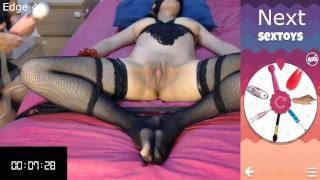Edging game part 2 new rules and suprises for Bunny