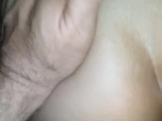 Latina slut fucked hard in her tight ass