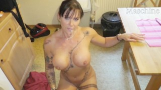 Mother-in-law, the horny Milf sow! Mega tits Mega Body !