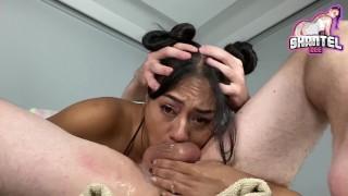 Ebony Extreme Deepthroat