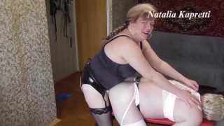 Exclusive size, more and more anal, the husband is terrified