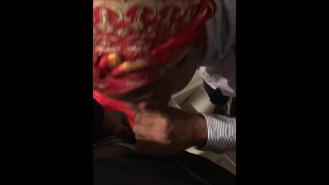 Black Teen Thot Sucking Dick