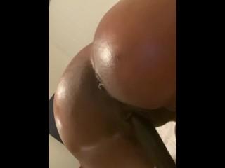 Young Tight Ebony Asshole