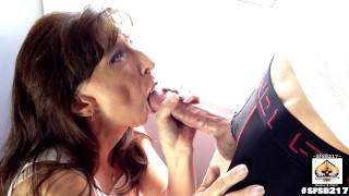 Hot Granny Loves Sucking Big Cock