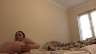 Anal play fresh out shower