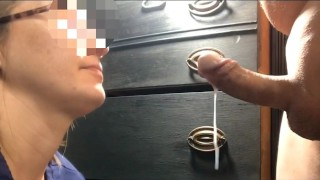 Part 4 Nurse's mouth gives him premature ejaculation only 0:47 Ruined orgasm
