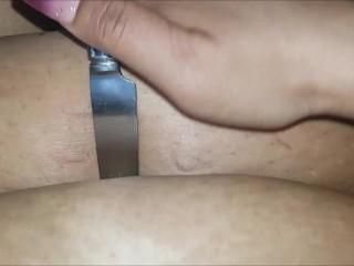 BBW Belly knife play (Demo version)