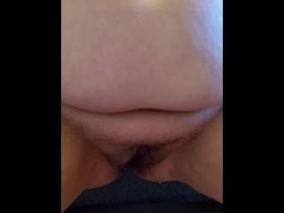 Wife cums after chatting online (pissing and squirt)
