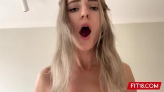 FIT18 - Eva Elfie - Big Natural Tits and No Tattoos