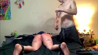 Hard Tit Slapping