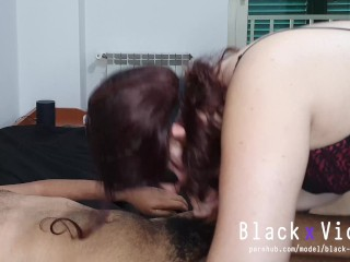 Red head British wife is hungry of cock 4K