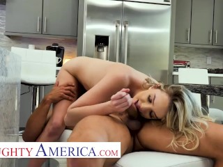 Naughty America Kenna helps her friend's dad get over his fresh divorce