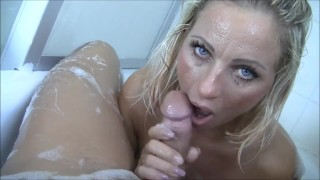 POV blowjob in bathtub it could be yours
