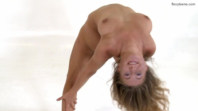 Russian chubby flexible model Aliska Zhiros