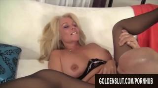 Golden Slut - Eating Mature Pussy Compilation Part 1