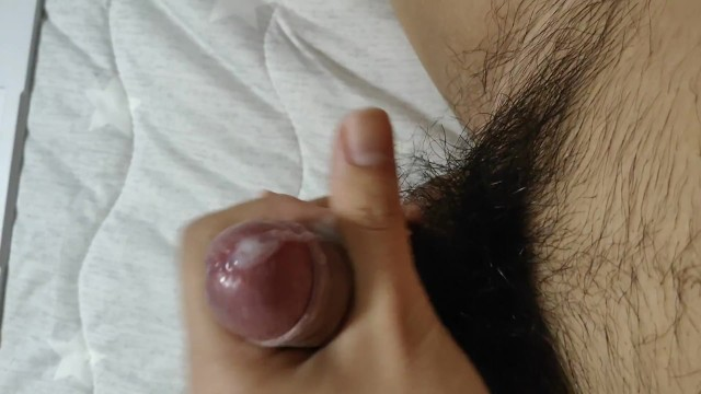 POV Solo Japanese Man Masturbation