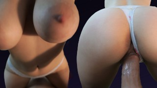 Tinder Hookup wasn't prepared for Cum in Mouth - Milaluv 4K