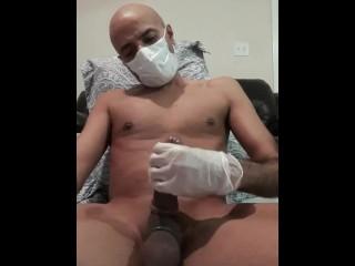 FUNBOYY SOLO SERIES-  COVID 19 Masturbation time..Jerking off until I cum