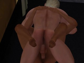 Sex with a boyfriend, they didn't even get to bed | Porno Game 3d