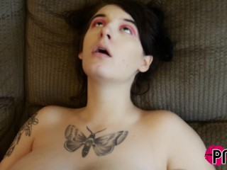 Pawg Davina Raines eats Tatted Submissive Baby G Sin's Pussy