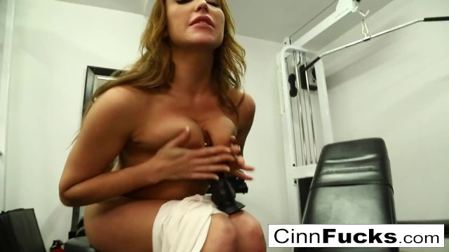 Sexy Beauty Christiana Cinn Gets so Turned on at the Gym ...