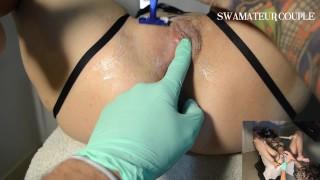 GYNO EXAM - MEDICAL FETISH - SHAVE PUSSY - BDSM - SPECULUM - EP10PART1
